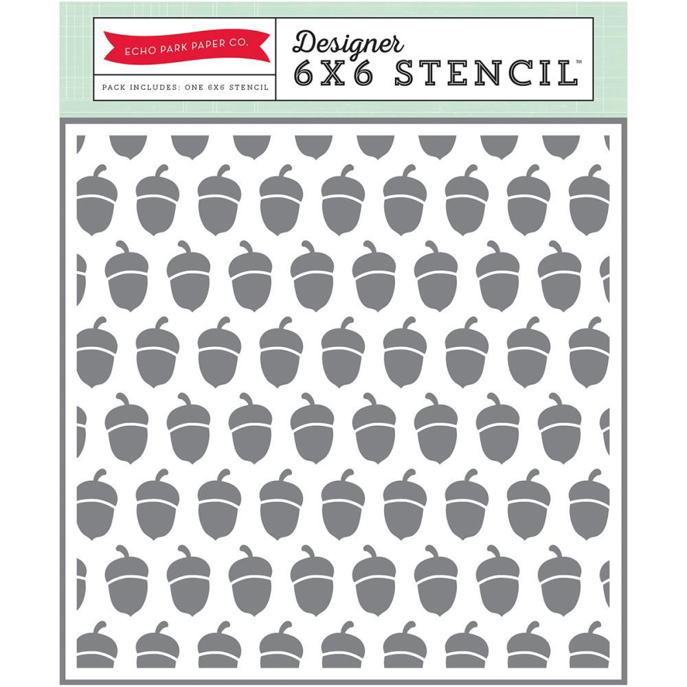 Scrapbook paper echo park - Stencils