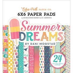 Echo Park - Summer Dreams Collection - 6x6 Paper Pad