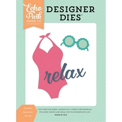 Echo Park - Designer Dies - Summer Dreams Summer Essentials Die