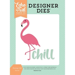 Echo Park - Designer Dies - Summer Dreams Flamingo Chill Die