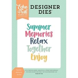 Echo Park - Designer Dies - Summer Dreams Summer Memories Die