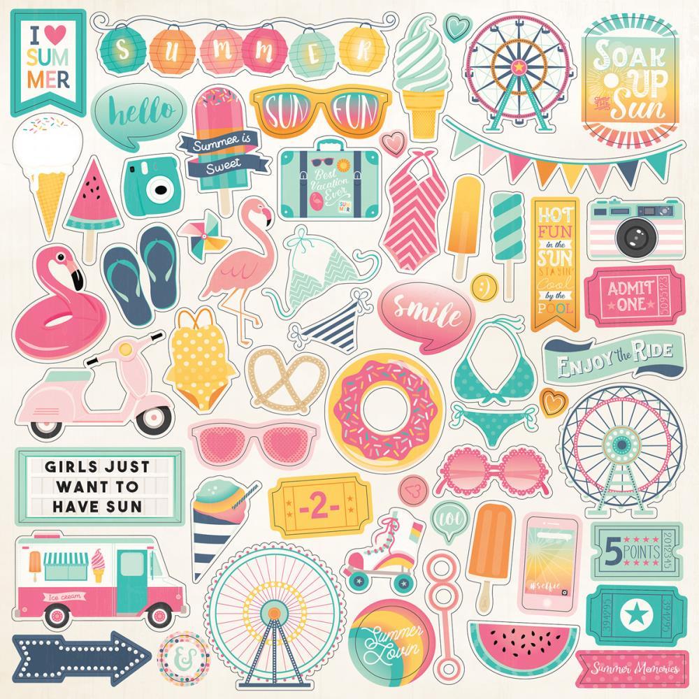 Echo Park Summer Dreams Collection 12 Quot X12 Quot Cardstock