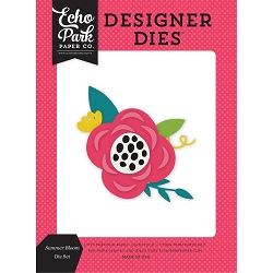 Echo Park - Designer Dies - Summer Fun Summer Bloom Die