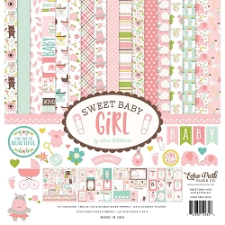 Echo Park - Sweet Baby Girl Collection  - Collection Kit