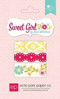 Echo Park - Sweet Girl Collection - Washi Tape