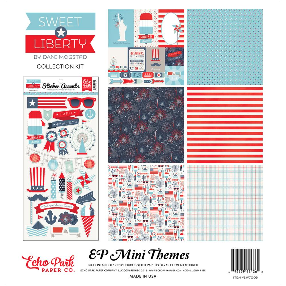 Echo Park - Sweet Liberty Mini Collection