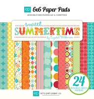 Echo Park - Sweet Summertime Collection - 6x6 Paper Pad