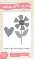 Echo Park - Sweet Summertime Collection - Flower Love Designer Die