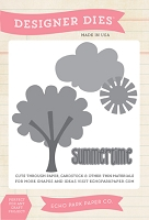 Echo Park - Sweet Summertime Collection - Summertime Scene Designer Die
