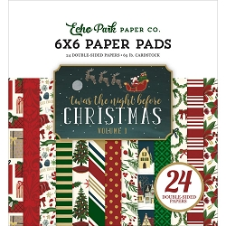Echo Park - 'Twas The Night Before Christmas Vol 1 Collection - 6x6 Paper Pad