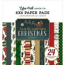 Echo Park - 'Twas The Night Before Christmas Vol 2 Collection - 6x6 Paper Pad
