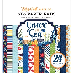 Echo Park - Under The Sea Collection - 6x6 Paper Pad