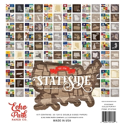 Echo Park - Stateside Collection - All 50 states (1 each)