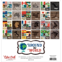 Echo Park - Around the World Collection - All 12 Countries (1 each)