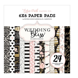 Echo Park - Wedding Bliss Collection - 6x6 Paper Pad