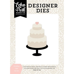 Echo Park - Designer Dies - Wedding Bliss Wedding Cake Die