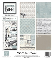 Echo Park - EP Mini Themes Collection Kit - Melody Of Life