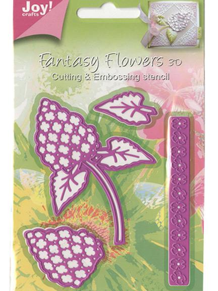 Joy crafts die fantasy 3d flowers flower 1 for Joy craft flower dies