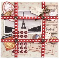 EK Success - Jolee's Boutique French General - Ephemera French Paper Kit