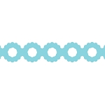 EK Success-Border Punches-Scalloped Circle Chain