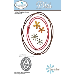 Elizabeth Craft Designs - Die - Entwined Ovals