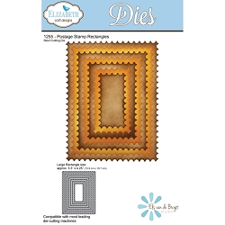 Elizabeth Craft Designs - Die - Postage Stamp Rectangles