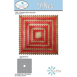 Elizabeth Craft Designs - Die - Postage Stamp Squares
