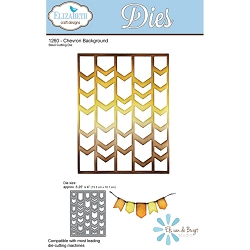 Elizabeth Craft Designs - Die - Chevron Background