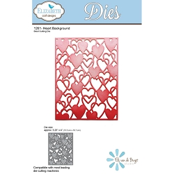 Elizabeth Craft Designs - Die - Heart Background