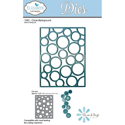 Elizabeth Craft Designs - Die - Circle Background