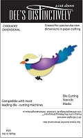 In The Making - Dee's Distinctively Die - Chickadee Dimensional