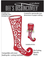 In The Making - Dee's Distinctively Die - Stocking Overlay 2