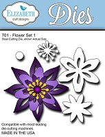 Elizabeth Craft Designs - Die - Flower Set 1