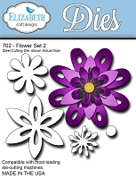 Elizabeth Craft Designs - Die - Flower Set 2