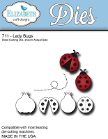 Elizabeth Craft Designs - Die - Ladybugs