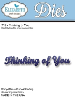 Elizabeth Craft Designs - Die - Thinking of You