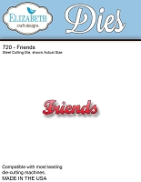 Elizabeth Craft Designs - Die - Friends