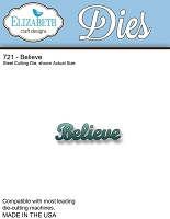 Elizabeth Craft Designs - Die - Believe