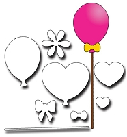 Elizabeth Craft Designs - Die - Balloons