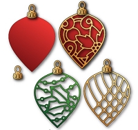 Elizabeth Craft Designs - Die - Ornament Set 1