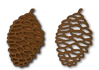 Elizabeth Craft Designs - Die - Pinecone
