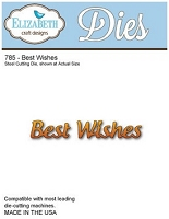 Elizabeth Craft Designs - Die - Best Wishes