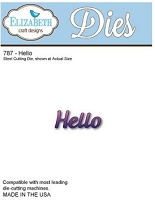 Elizabeth Craft Designs - Die - Hello