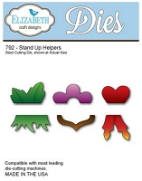 Elizabeth Craft Designs - Die - Stand Up Helpers (click to see sample card)