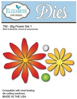 Elizabeth Craft Designs - Die - Big Flower Set 1