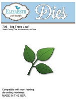 Elizabeth Craft Designs - Die - Big Triple Leaf