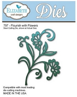 Elizabeth Craft Designs - Die - Flourish with Flowers