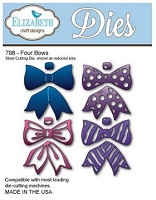 Elizabeth Craft Designs - Die - Four Bows