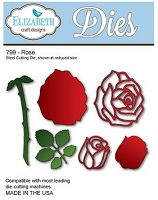 Elizabeth Craft Designs - Die - Rose