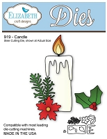 Elizabeth Craft Desings - Die - Candle